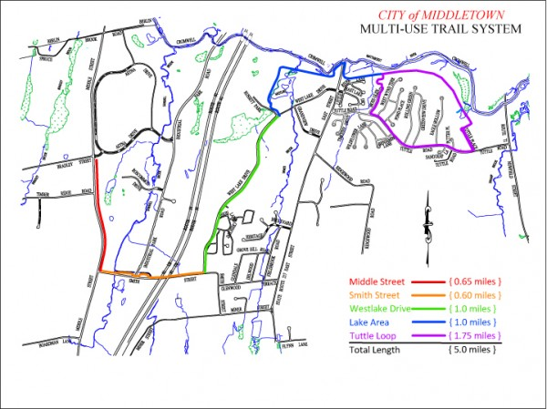 Westlake multi-use trail map b