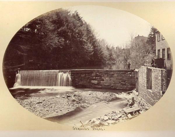 Strouds dam