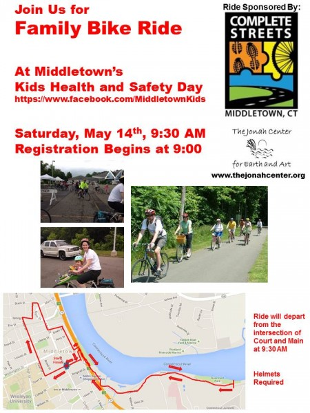 Family Bike Ride Flyer 2016